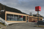 Passivhaus-Supermarkt in Tirol